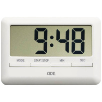 ADE Digitale Timer Wit Extra dun