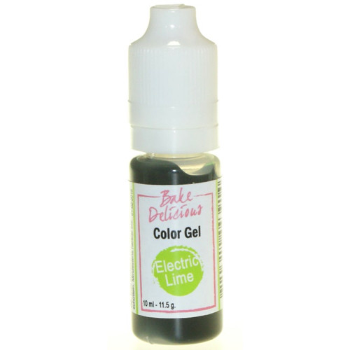 Bake Delicious Gel Electric Lime