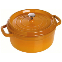 Braadpan Rond Mosterd 24cm
