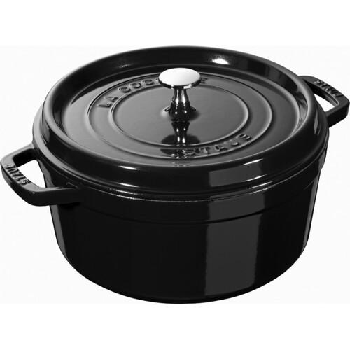 Staub Braadpan Shiny-Black 24cm