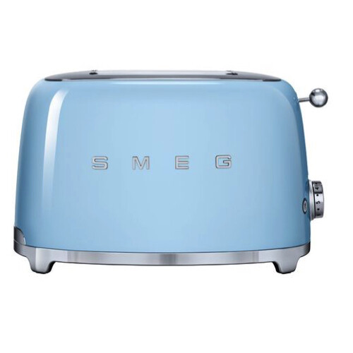 Smeg Broodrooster 2x2 Pastelblauw