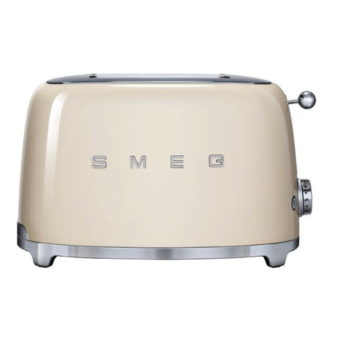 Smeg Broodrooster 2x2 Crème