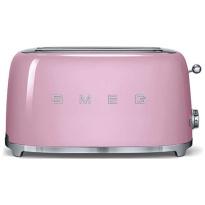Smeg Toaster 2x4 Roze