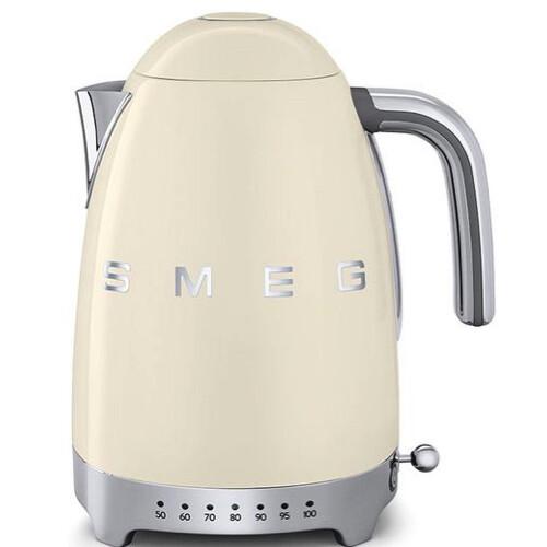 Smeg Waterkoker Instelbaar Creme