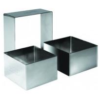 Uitsteker/kookring vierkant, 10x10x4,5 cm