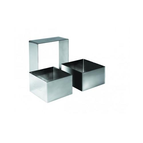 Uitsteker/kookring vierkant 4x4x41/2 cm