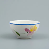 Flora Castle Bowl Ruby Ø 11 cm