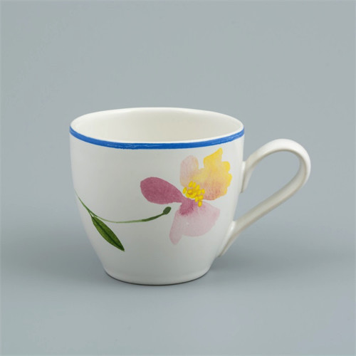 Flora Castle Coffee Cup Ruby 250ml