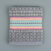 Flora Castle Kitchen Towel Harper Grey