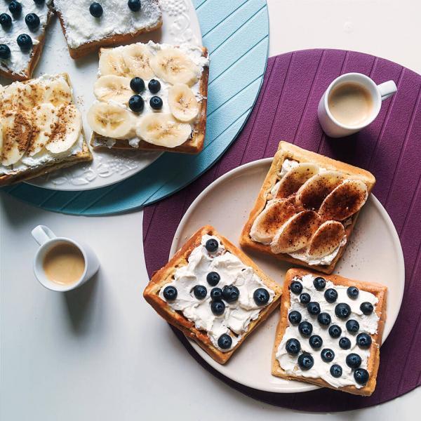Wafels en koffie