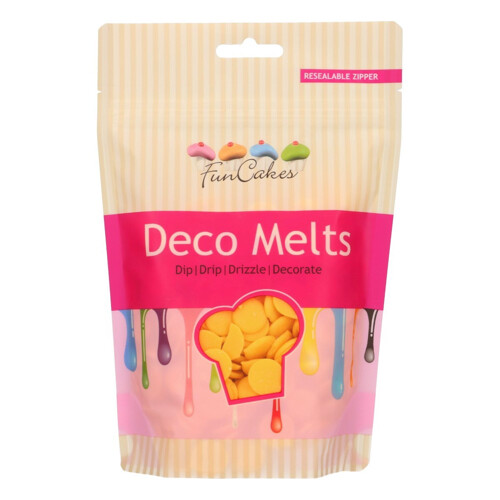 Deco Melts Yellow 250gram