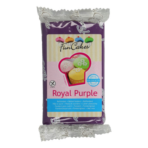 FunCakes Rolfondant Royal Purple 250g