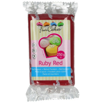 FunCakes Rolfondant Ruby Red 250g