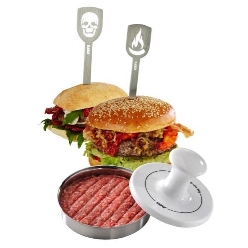 Hamburgerpers + 2 Hamburgerspiesen