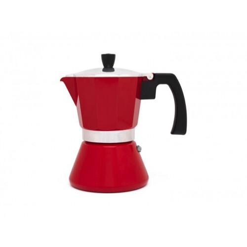 Espressomaker Tivoli Rood 6cups