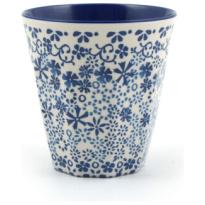 Melamine Cup Indigo Lace