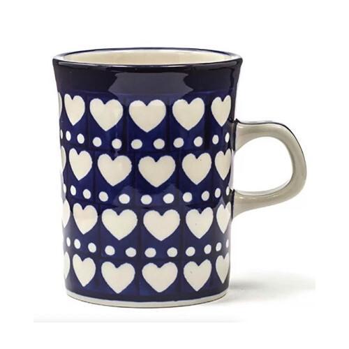 Bunzlau Castle Rechte mok-Blue-Valentine-250ml