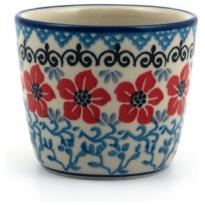 Mug Tumbler Red Violets 190ml
