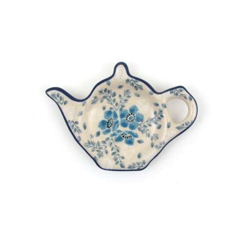 Teabag Dish Teapot Frost