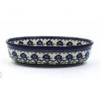Oven Dish Oval Black Berry 1150ml
