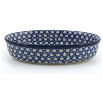 Oven Dish Oval Pearls 1550ml