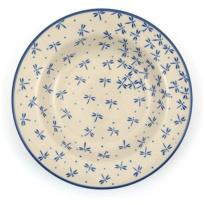 Plate Deep Damselfly Ø23.5cm