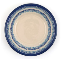 Plate Deep Leaf Ø21cm