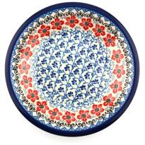 Plate Deep Red Violets Ø 21cm