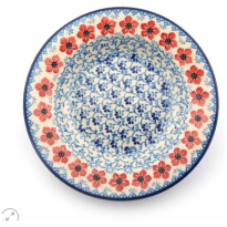 Plate Deep Red Violets Ø23.5cm