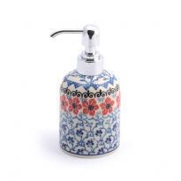 Soap Dispenser Red Violets