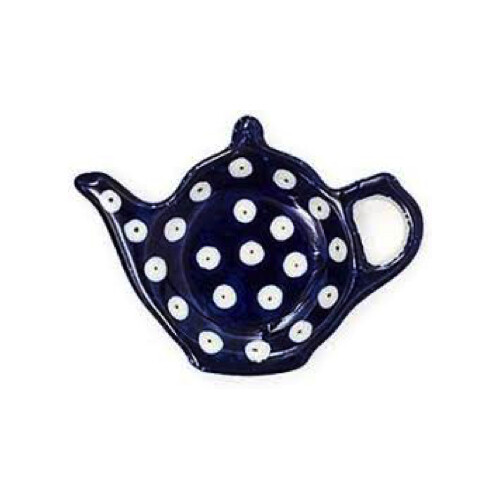 Teabag Dish Teapot Blue Eyes