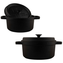 Cast Iron BBQ-Pan Large-3.5L