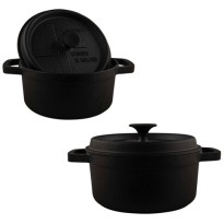 Cast Iron BBQ-Pan Small-2l