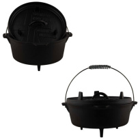 Cast Iron Dutch Oven 3Qt-3.5l