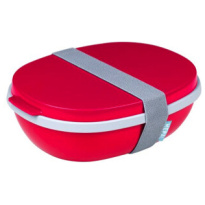 Lunchbox Ellipse Duo Nordic-Red