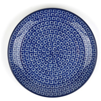 Plate Blue Diamond Ø 23.5cm