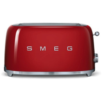 Smeg Toaster 2×4 Rood