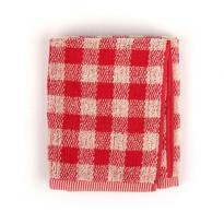 Handdoek Ruit Rood