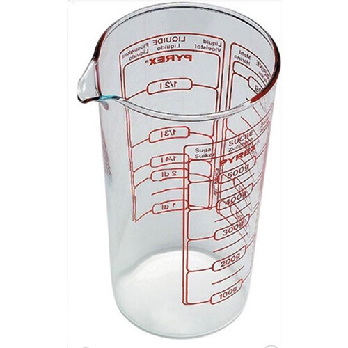 Pyrex Classic maatbeker glas-500ml
