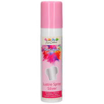 FunCakes Metallic Spray Zilver