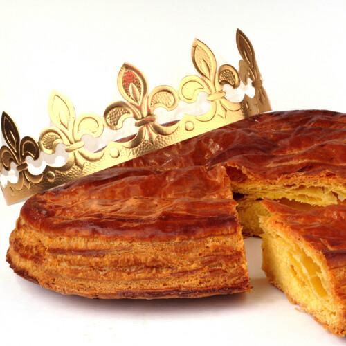Traditionele Driekoningentaart : Galette des Rois