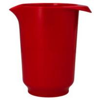 Beslagkom Hoog Rood 1-Liter