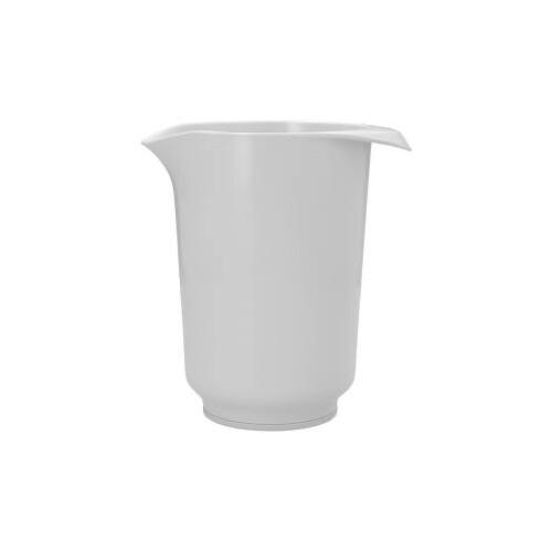 Beslagkom Hoog Wit 1-Liter
