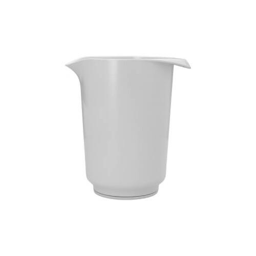 Beslagkom Hoog Wit 1.5-Liter