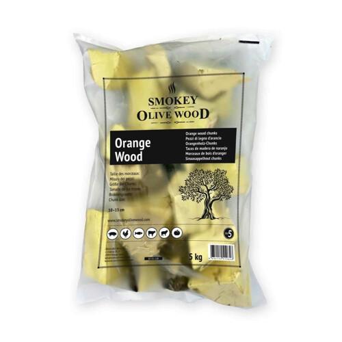Smokey Olive Wood Sinaasappel-Chunks-1.5kg