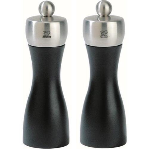Peugeot Peper-Zoutstel Duo Fidji-Noir