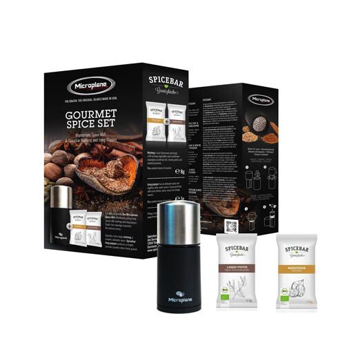 Microplane Gourmet Spice-Set Nootmuskaatmolen