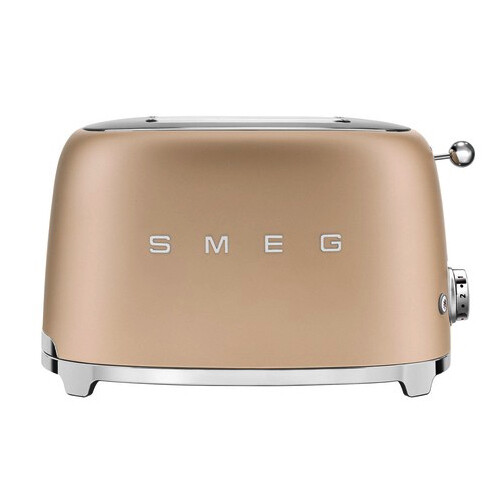 Smeg Broodrooster Mat Champagne-2x2