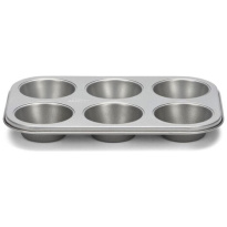 Patisse Silver-Top Muffinvorm 6-vaks