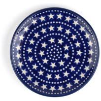 Bunzlau Castle Gebaksbord Blue-Stars-16cm